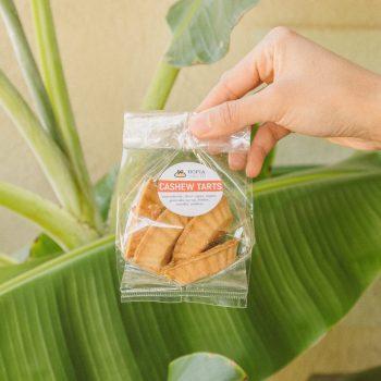 cashew tarts in a 5pc bag